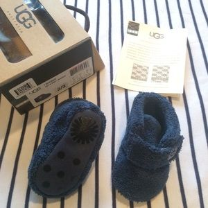 UGG Baby booties, navy, winter slippers
