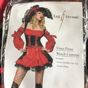 Leg Avenue Halloween Vixen Pirate costume!