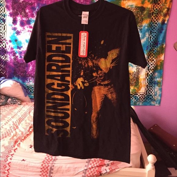 e3384d62f6a SOUNDGARDEN Louder Than Love T-Shirt
