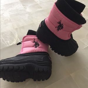 U.S Polo Ass. Toddler Snow boots.   Super cute