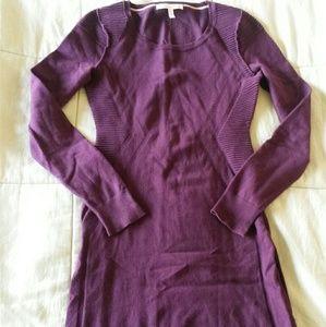 Victoria's Secret moto bodycon sweater dress XS