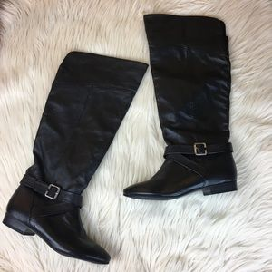 Chinese Laundry Women's Tall Black Boots Size 7.5
