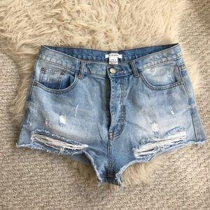 Nordstrom jean shorts