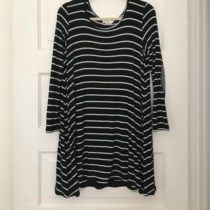 Anthropologie Puella striped swing dress
