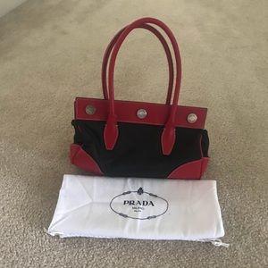Prada Bag•Black and red