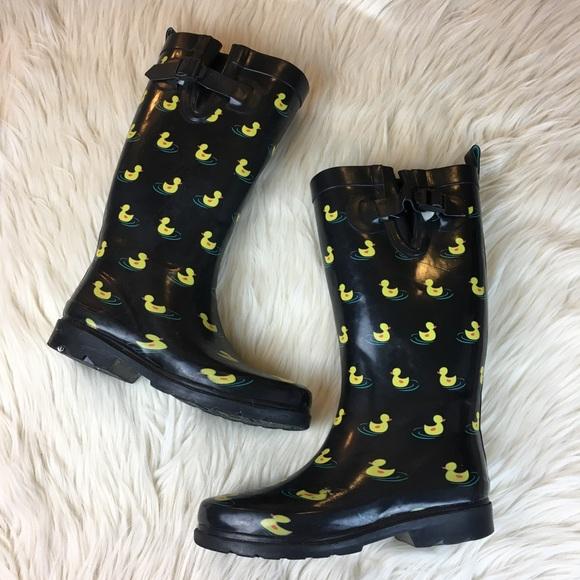 Rain Boots Womens Size 7 Rubber Duck