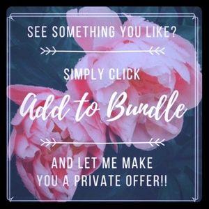 🌹 Bundle & Save!! 🌹