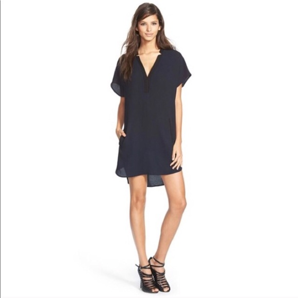 7e4c6510077 Astr Dresses   Skirts - ASTR V-Neck Crepe Shift Dress