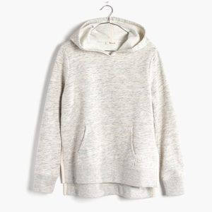 Madewell side slit hooded sweatshirt