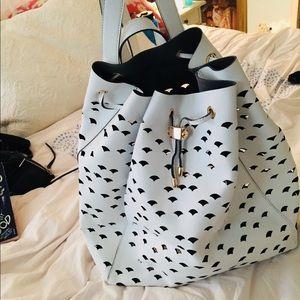Deux Lux White Wanderlust backpack