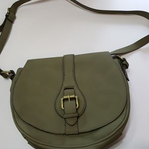 Only used once army green crossbody!