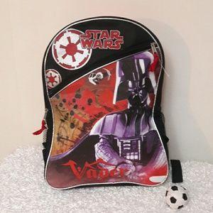 NWT Disney Star Wars Vader School Backpack