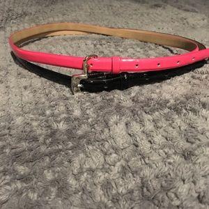 Two Skinny belts