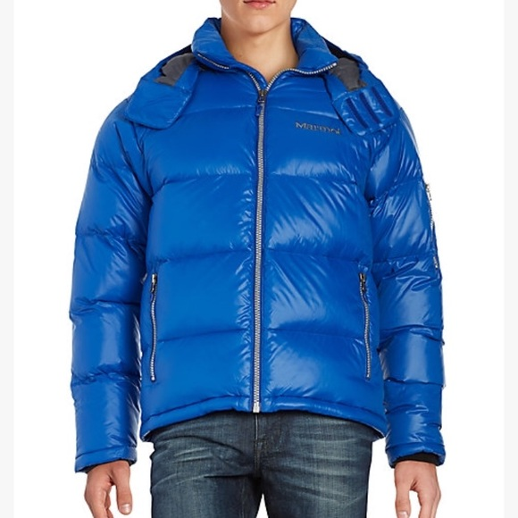 Marmot Stockholm down jacket in blue! f7e808728120