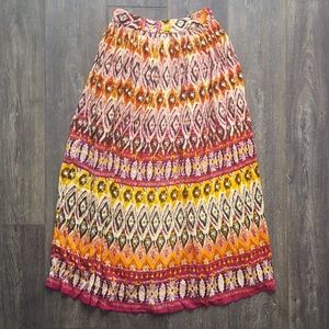 Dresses & Skirts - Vibrant Patterned Skirt - small