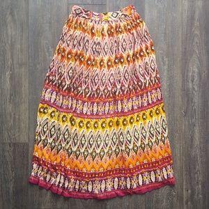 Vibrant Patterned Skirt - small