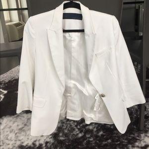 NEW White Zara Blazer Size Small