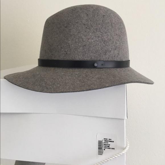 45aa85f5e37 Rag   Bone Oxford Gray Wool Felt Hat