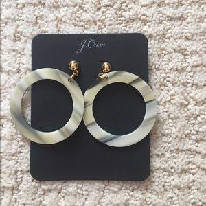 J Crew hoop earrings