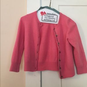 Boden cropped cashmere sweater, size 2!