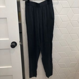 Alice and Olivia silk high waisted pants