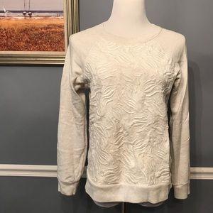 [J. Crew] Tulip Embroidery Sweatshirt