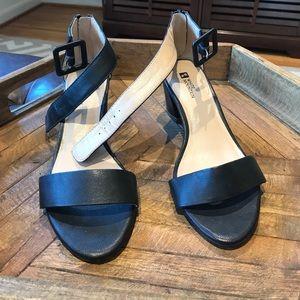 White Mountain Navy Strappy Heels