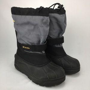 Kid's COLUMBIA Waterproof Snow Boots! Size 4.