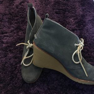 Sperry top-sider wedges 11M