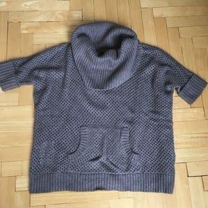 Bcbg Max Azria Eddy Shawl collar sweater o/s