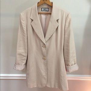 Pale Buff Pink Blazer