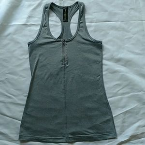 90 Degree Yoga top with Zipper