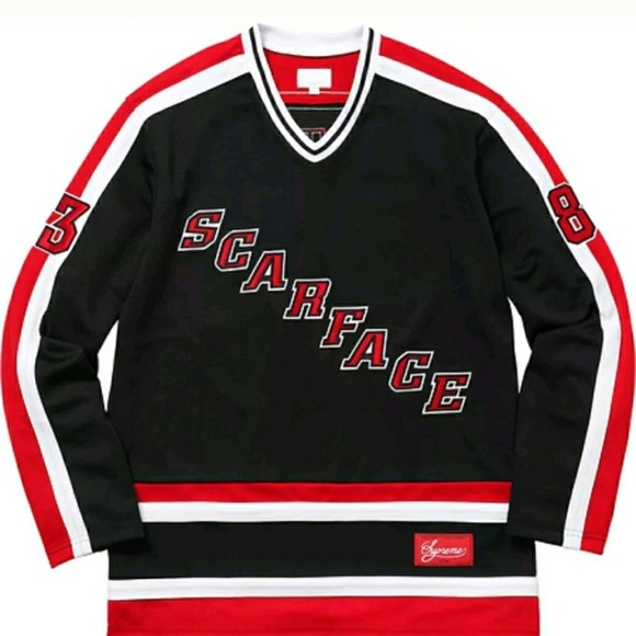 1775f4ca980 Supreme Scarface hockey jersey medium. Listing Price   270