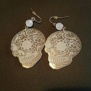 Day of the Dead Skull Earrings