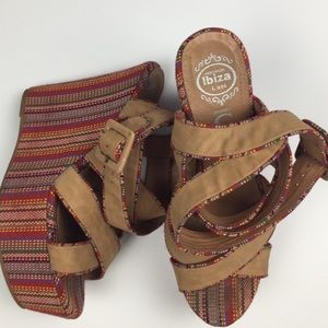 Jeffrey Campbell Del Cid Lo Boho Mexican Wedges