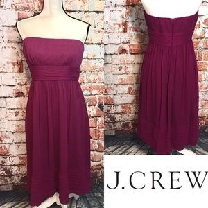 ••J. Crew•• Juliet dress silk chiffon