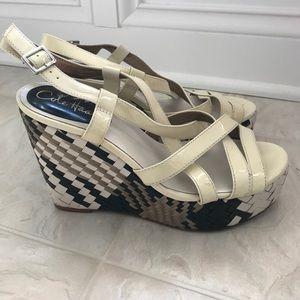Cole Haan 8B Wedge Sandals