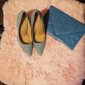 Shoe Republic LA Denim Heels