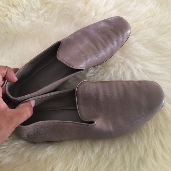 23c5d315aca Vince Women s Bray Leather Smoking Slippers. M 59e26adcf739bc144202a2a2