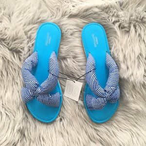 Urban Outfitters Striped Sandals