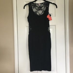 Black Poof! Dress