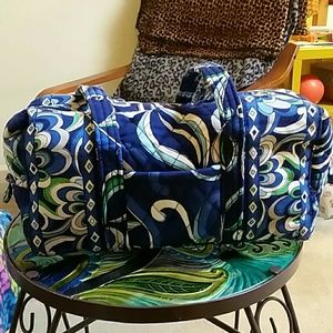 Retired Vera Bradley bag in Mediterranean Blue