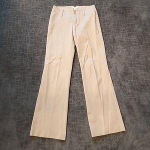 Tan stretch Banana Republic pants