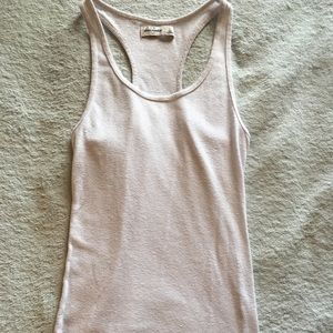 Abercrombie Kids girls size L white tank top