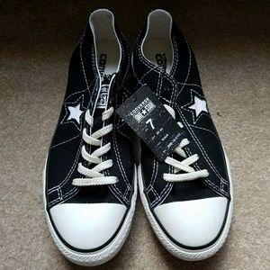 CONVERSE One Star DX OX Black & White NWT