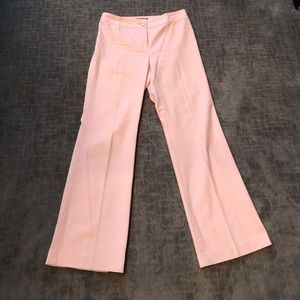 Pink linen fully lined Ann Taylor pants.