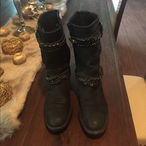 Vera Wang Lavander boots sz 37.5 / 7.5 US