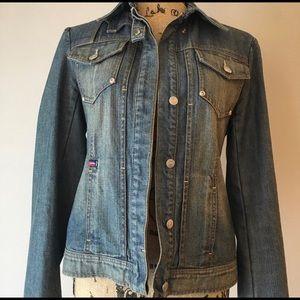BCBG Maxazria jean jacket