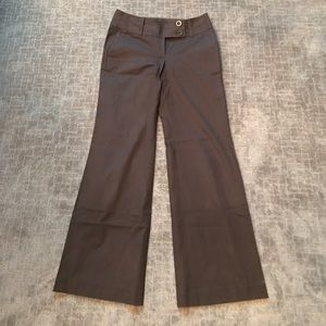 Chocolate brown Ann Taylor trouser pants