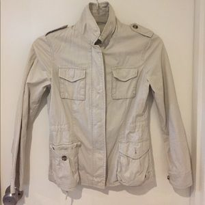 Khaki utility jacket from Banana Republic size XS